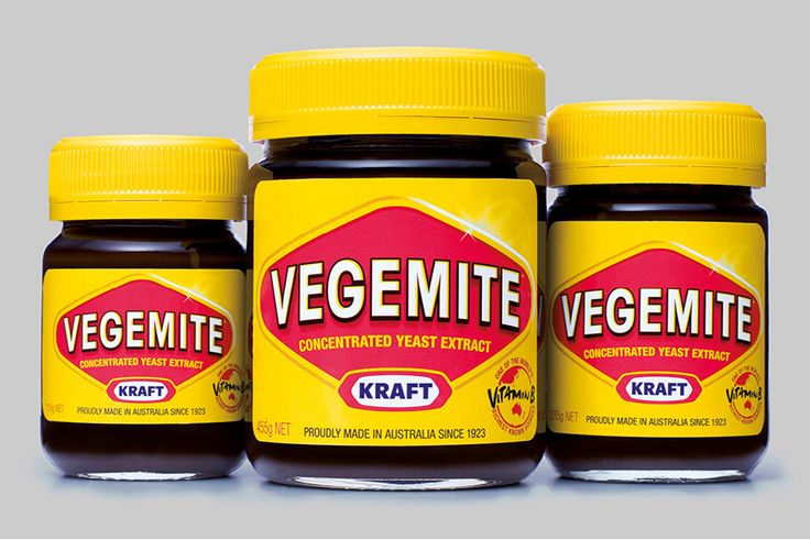 Kraft Vegemite Jar 3 Sizes Logo by Hoyne Design