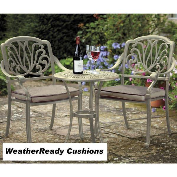 Cast Aluminium Garden Furniture, Amalfi Garden Furniture Range From Hartman