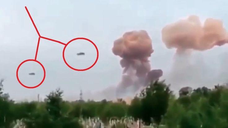 UFO Attack Video Caught on Camera | UFO Sightings 2016 | Latest UFO Sig...