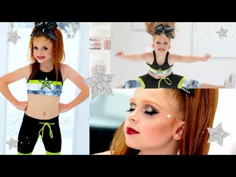 HOW TO: CHEER MAKEUP | STEP BY STEP TUTORIAL | ALL STAR CHEER  - YouTube