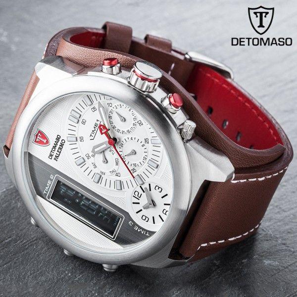 Detomaso Palermo Triple Time Chronographs