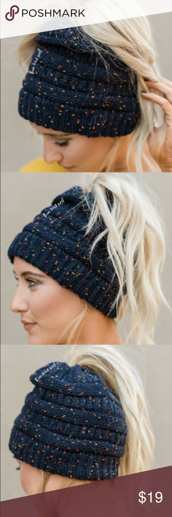 the 25+ best ponytail beanie ideas on pinterest | crochet bun hats