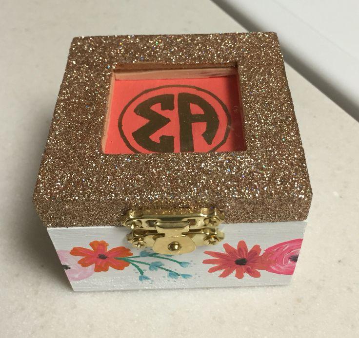 Sigma Alpha pin box                                                                                                                                                      More