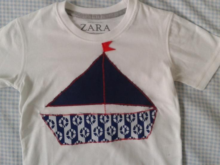 Camiseta barco.