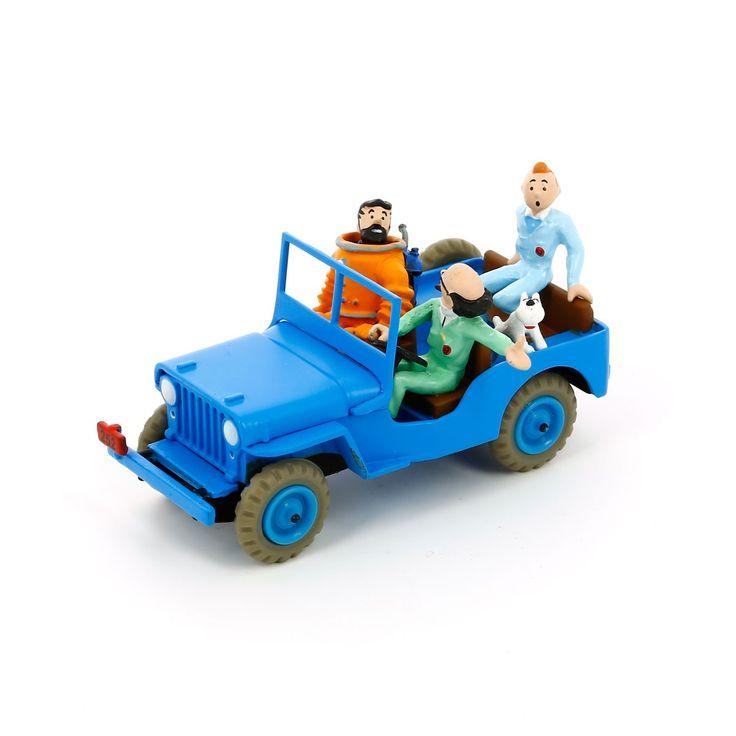 Jeep bleu