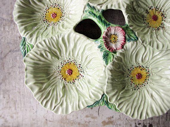 vintage carltonware platter  5 bowl poppies by StarTribeVintage, $350.00