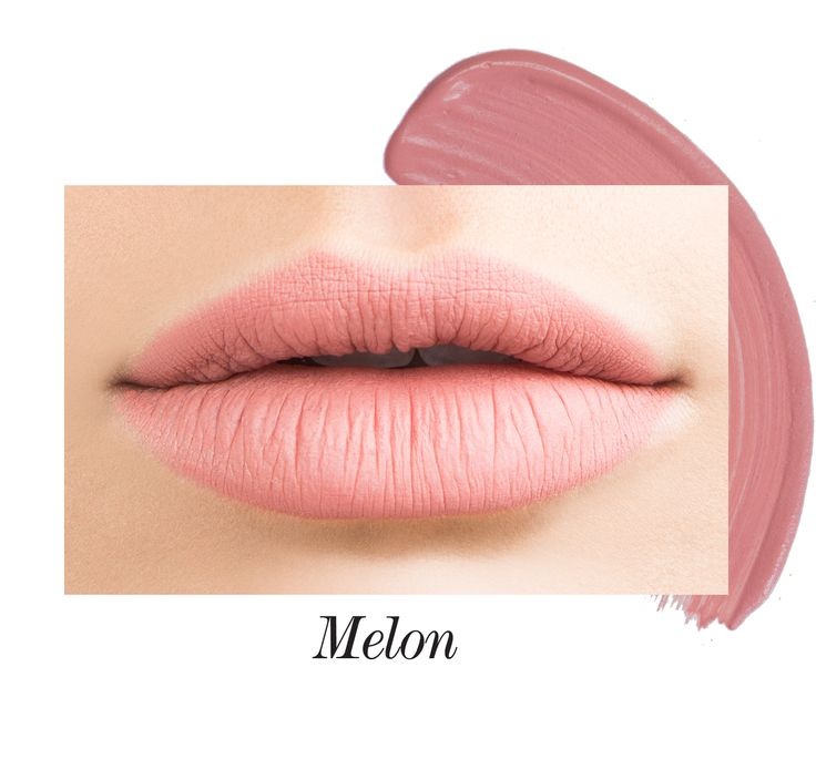 Melon Long-Wear Lip Crème Liquid Lipstick   Jouer Cosmetics