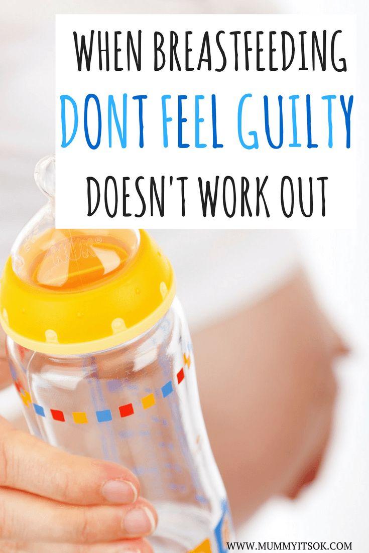 When Breastfeeding Doesn't Work Out Please Don't Feel Guilty   Formula Feeder   Formula Feeding Mums   Bottle-Fed Babies   Bottle-Feeding
