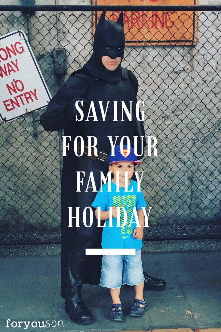 Pin - Top tips for saving for your family holiday