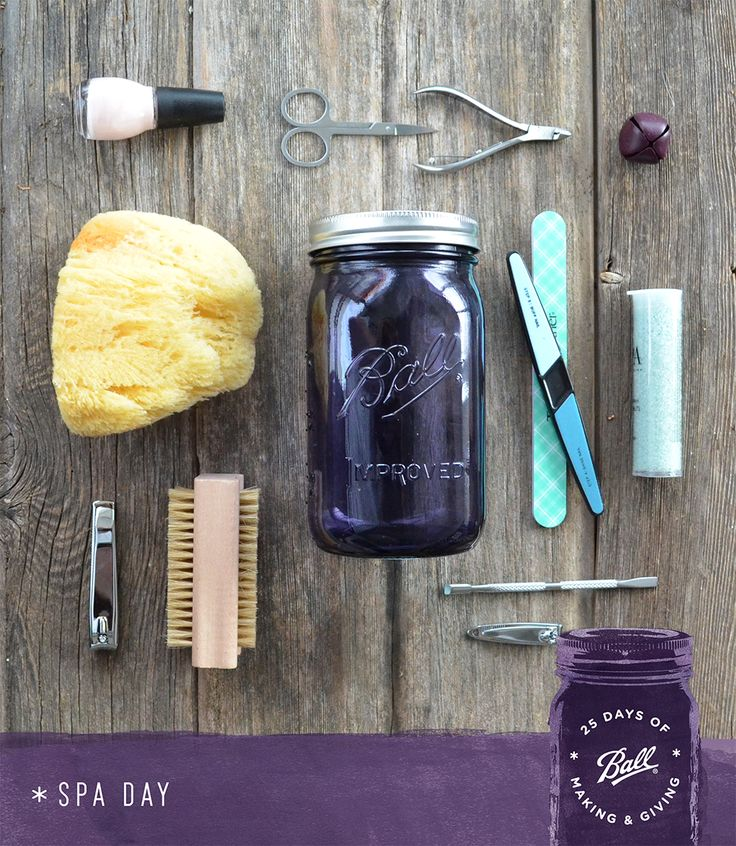 It's not a day at the spa but it's definitely the next best thing - a spa in a jar. Give this gift to the person deserving of pampering themselves. If you make an extra for yourself, well, we can't blame you.