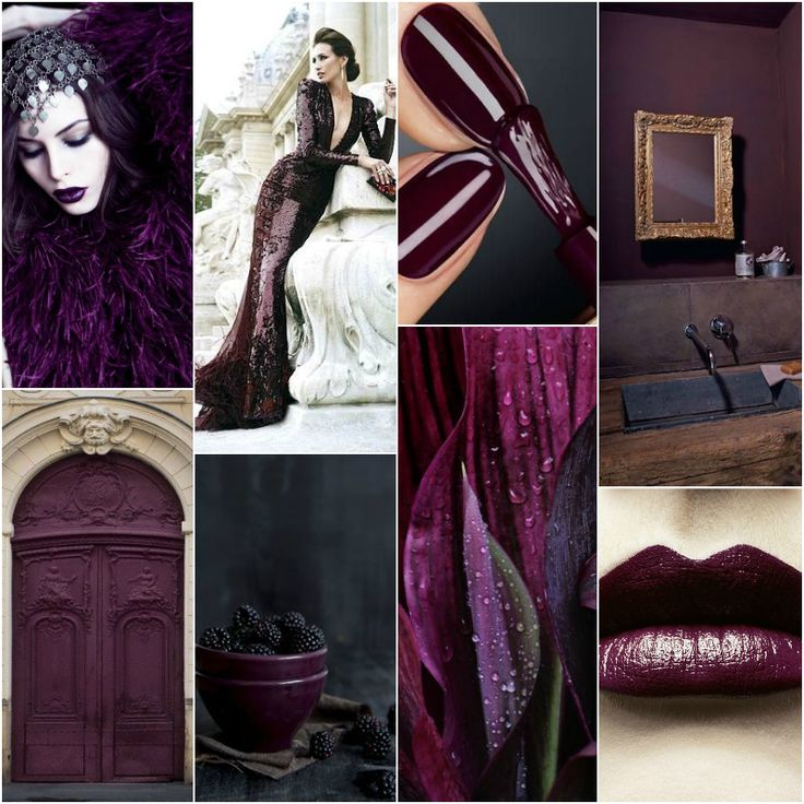 "Polish blogger Maria analyses shades of purple/violet right for each season type: ""Aubergine - suitable for true winter, deep winter, deep autumn, true autumn. Perhaps for true summer."" [I'm generally not a fan of purple but I do I wear some aubergine and mulberry (I'm a (Clear?)/True Winter.]"