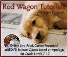 Red Wagon Tutorials specializes in live-feed, online recorded, and flash drive science classes. Endorsed by Dr. Jay Wile and using Apologia Science textbooks, Red Wagon Tutorials can help your student understand and appreciate science in a whole new way!   The ONLY Common Core we ascribe to is God's Word.    http://www.redwagontutorials.com/