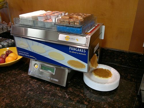 A Quickcakes Automatic Pancake Machine