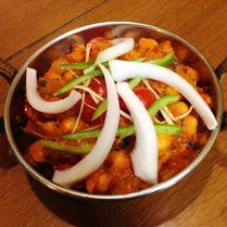 豆のカレー(チャナ)/Chana Masalaパリワール インド料理レストラン PARIWAR Indian Restaurant & Cafe