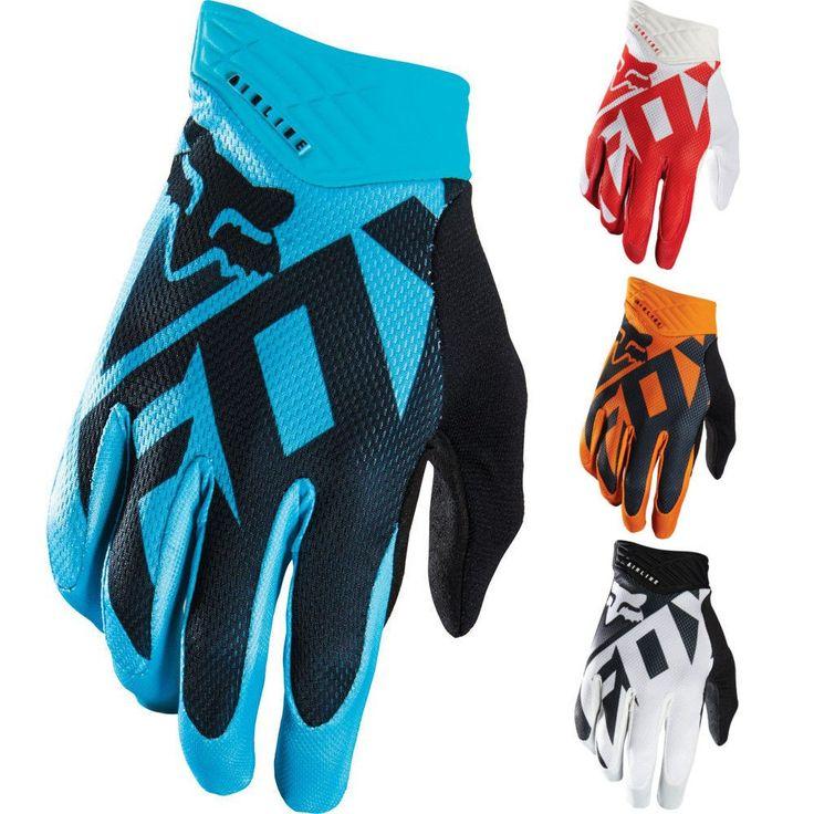 Fox Racing Shiv Airline Mens Off Road Dirt Bike Motocross Gloves