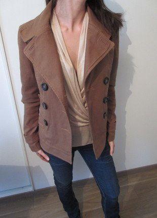 À vendre sur #vintedfrance ! http://www.vinted.fr/mode-femmes/autres-manteaux-and-vestes/30179823-veste-camel-etam-taille-38