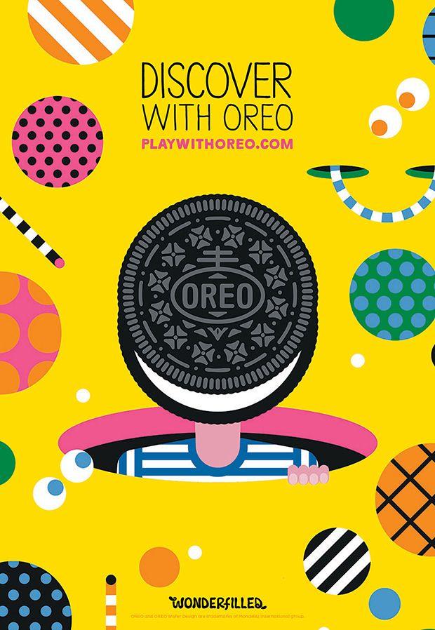 De superbes affiches qui donnent une nouvelle dimension au biscuit Oreo ! http://www.danstapub.com/oreo-fait-appel-a-10-artistes-pour-realiser-sa-nouvelle-campagne/