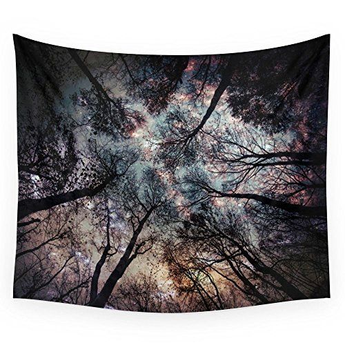 Society6 Starry Sky In The Forest Wall Tapestry Medium: 68