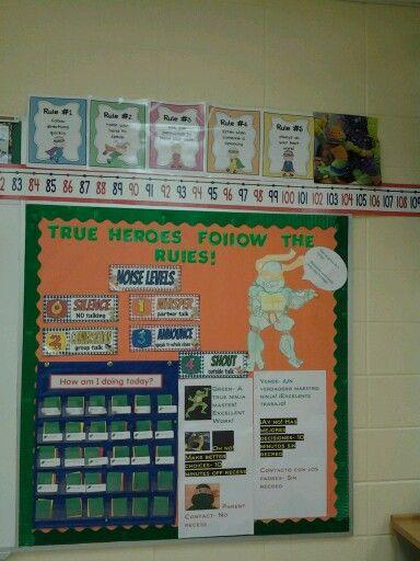 Super Hero Theme Ninja Turtles Classroom Ideas