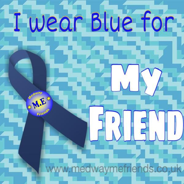 I wear blue for ...