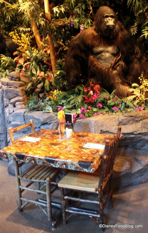 Rainforest Cafe. The kids have always wanted to eat here- and there's one in Animal Kingdom!