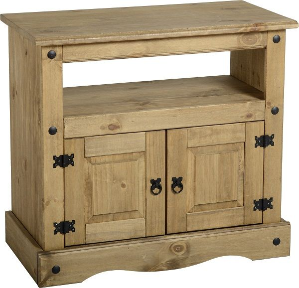 sales@spt-furniture.com  Distressed waxed pine. Assembled Sizes(MM) 850 x 430 x 785  SHELF SPACE W760 D370 H235 CUPBOARD SPACE W760 D370 H395 DOOR SIZE W330 H345 DOOR SIZE WITH STRIP W350 H345 SHELF OPENING HEIGHT 165MM