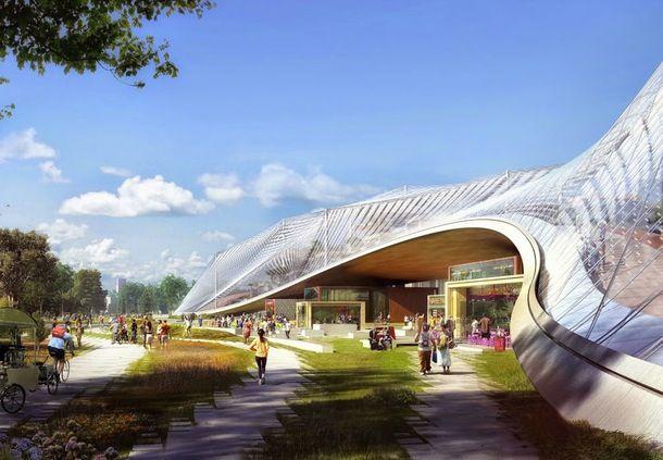 Se de første skitser af dansk super-arkitektur for Google | Bobedre.dk