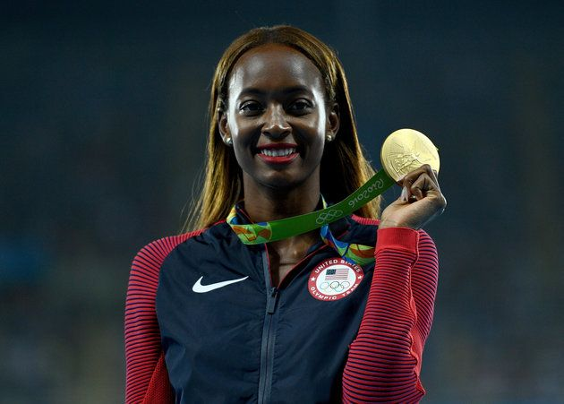 Dalilah Muhammad: Team USA, Track & Field --> These Black Athletes Powerfully Dominated The 2016 Olympics