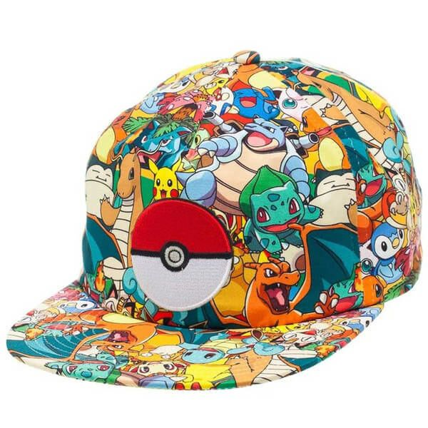Newest Pokemon Go Cap Hat Team Valor Team Mystic Team Instinct Pokemon Cap Pokemon Hats