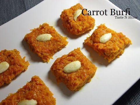 Carrot Burfi | Gajar ki burfi | गाजराची वडी | Indian sweets | Easy N Qui...