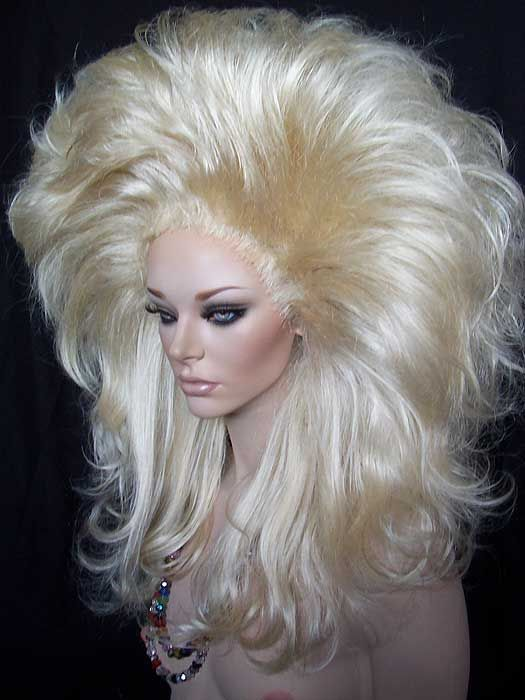 Rooted Drag Queen Wig 613 Pale Blonde Wigs