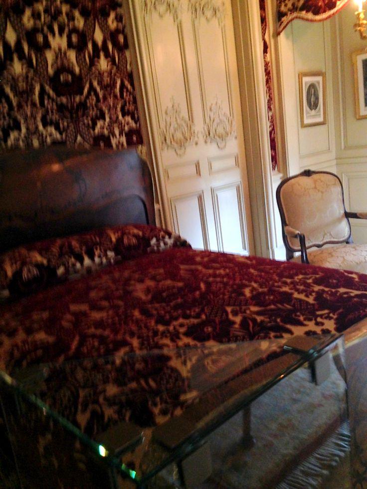 Biltmore House- 2nd- 1/2 Floor- Louis XV Bedroom- Door on ...