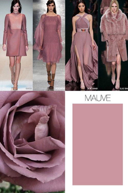 MAUVE is the new pink Clothes Trend 2015 | Pink is the key color trend for Fall-Winter 2015/2016