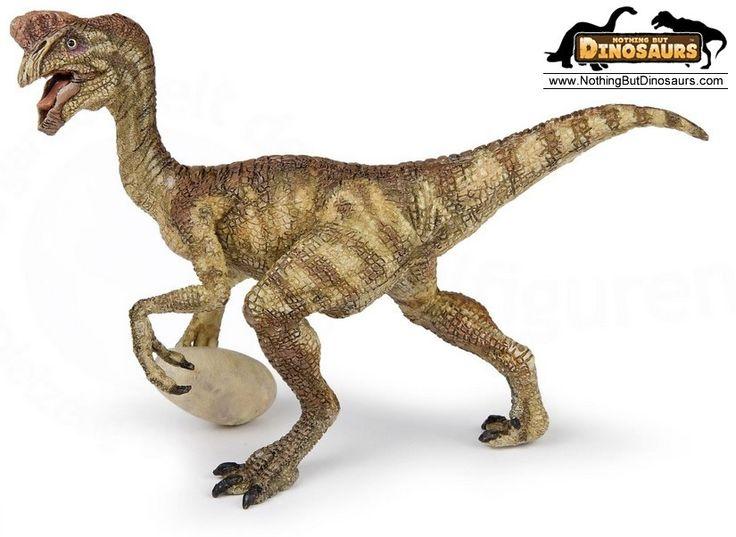 Prehistoric Animals Toys : Papo museum quality realistic oviraptor dinosaur with egg