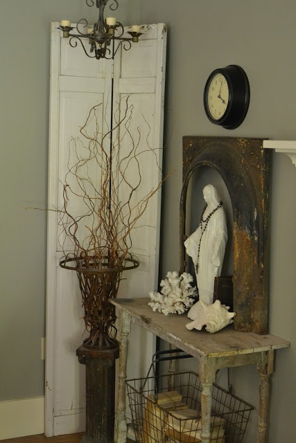 17 best images about home altar ideas on pinterest family homes virgin mary and the archangels - Home altar designs ...