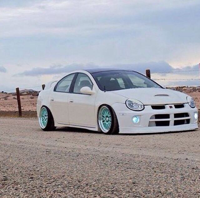 Dodge neon cute mint white srt