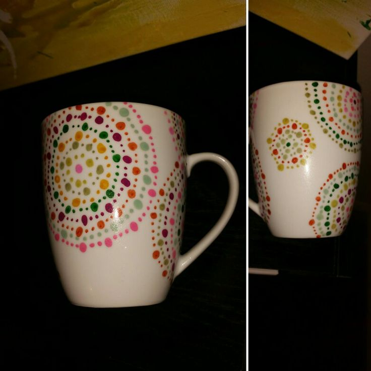 Diy painted coffee mugs oil sharpie paint pen things i for Craft smart paint pen on mugs