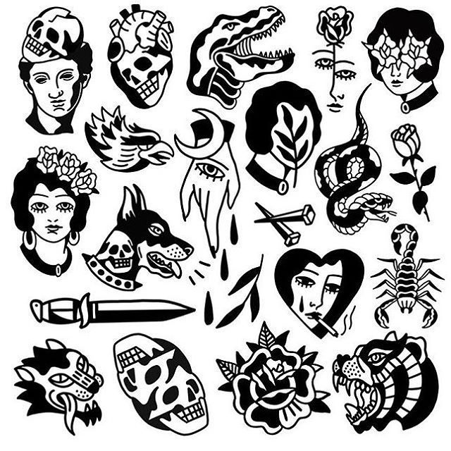 Traditional Tattoo S Instagram Photo Flash By Msgink Traditional In 2020 Old School Tattoo Tattoo Flash Art Traditional Tattoo