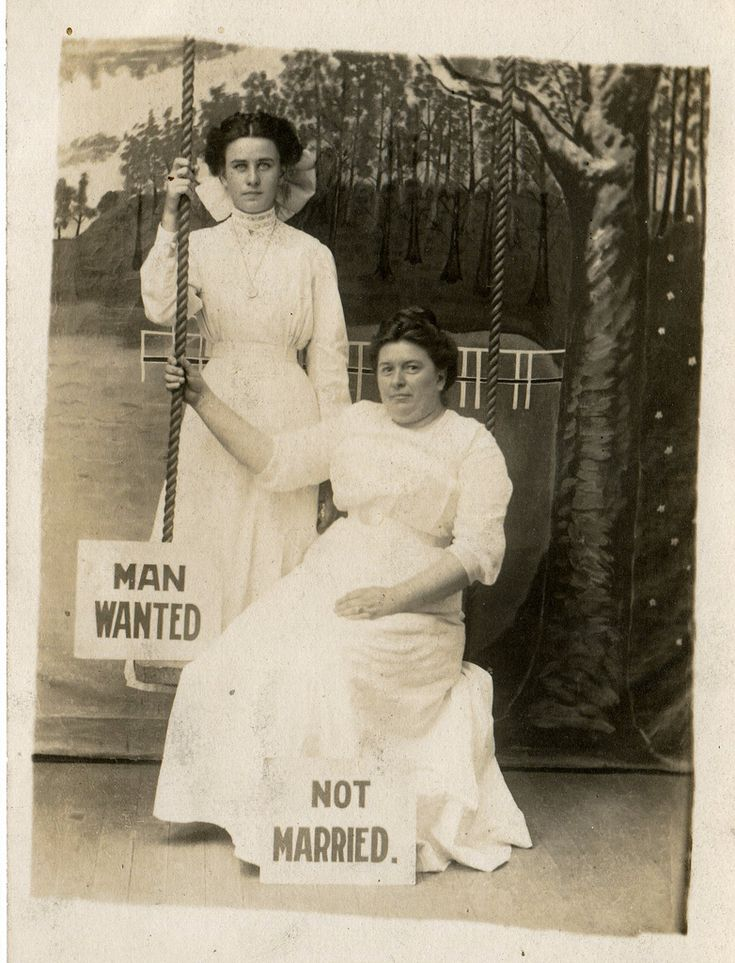 Mother didn't want me and my sister to be old maids.