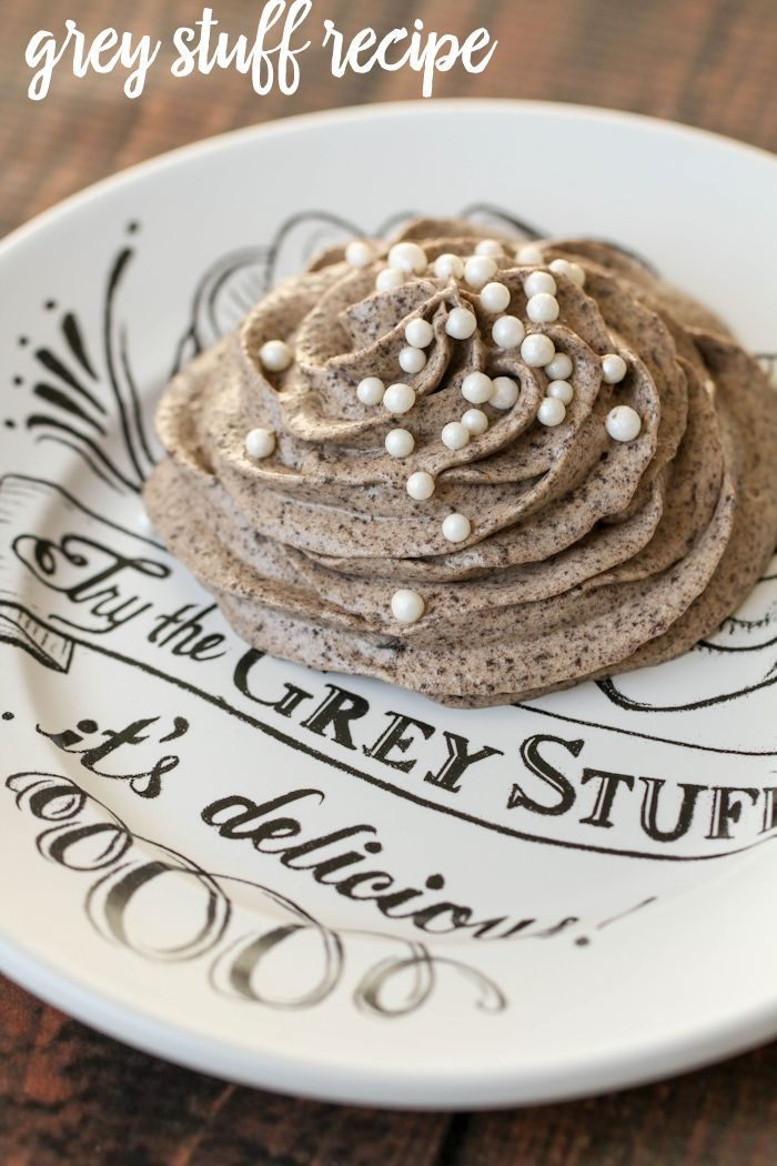 """Disney World's """"Grey Stuff"""" recipe!! It's so easy to make and so delicious. Tastes just like the recipe from the Be Our Guest restaurant. { lilluna.com }"""