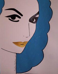 Mexican DIVA : MARIA FELIX - MEXICAN POP ART : ABSTRACT Original PAINTING | eBay