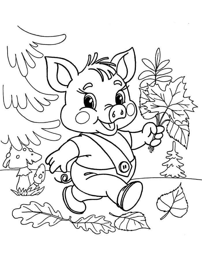 Раскраски для детей 5 лет - состоят уже из знакомых сцен и ...