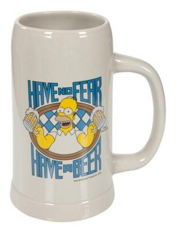 """The Simpsons - Tuplák Homer. Zajímavý """"tuplák"""" na pivo s motivem Homera Simpsona. Tuplák je vhodný pro všechny pivaře, kterým klasický půllitr nestačí."""