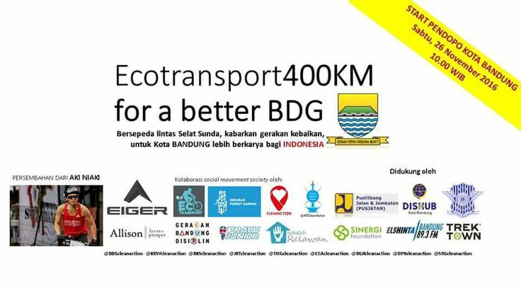 Eco Transport 400 Km Bersepeda Lintas Selat Sunda