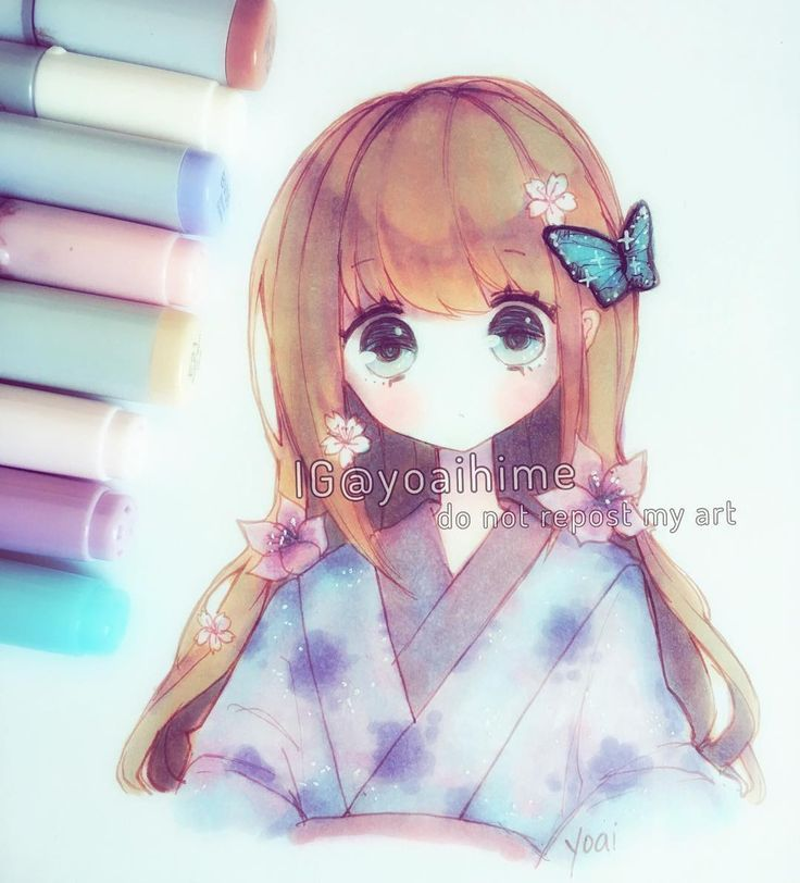 132 best Copic images on Pinterest | Kawaii art, Anime art and Draw