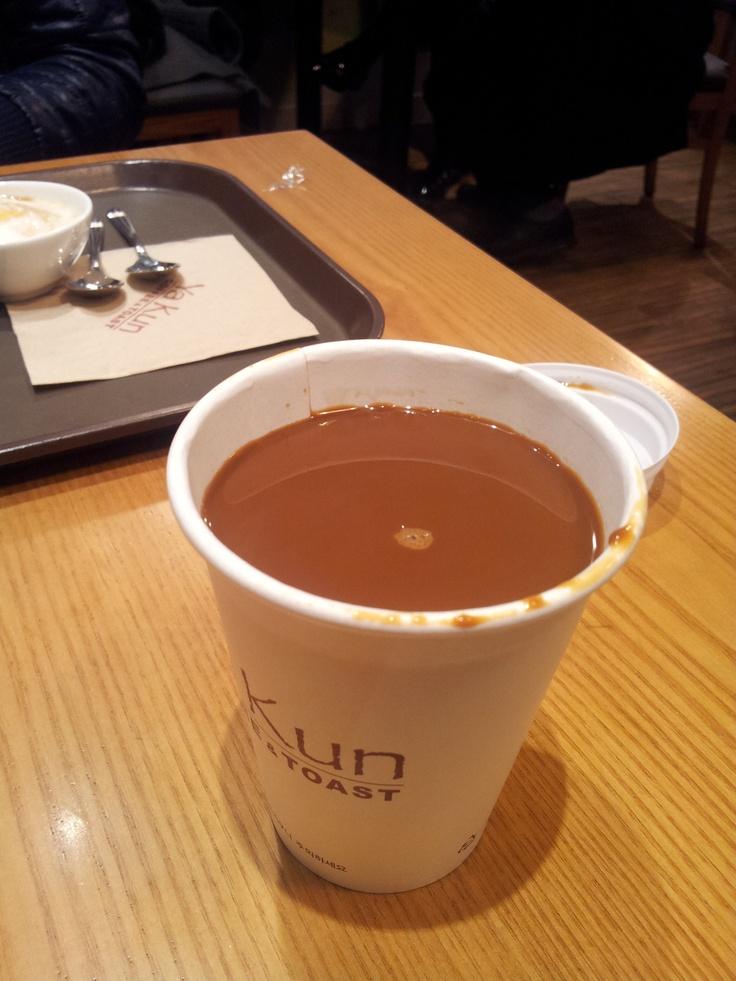 @ 강남역 야쿤토스트  너무 진해서 잊혀지지 않는 이곳의 커피맛. 중독적이다.