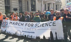 Why I marched for science  By Jon Butterworth  Science will not make moral and political choices for us, or tell us what our goals should be. But it will help delineate the possibilities for achieving them