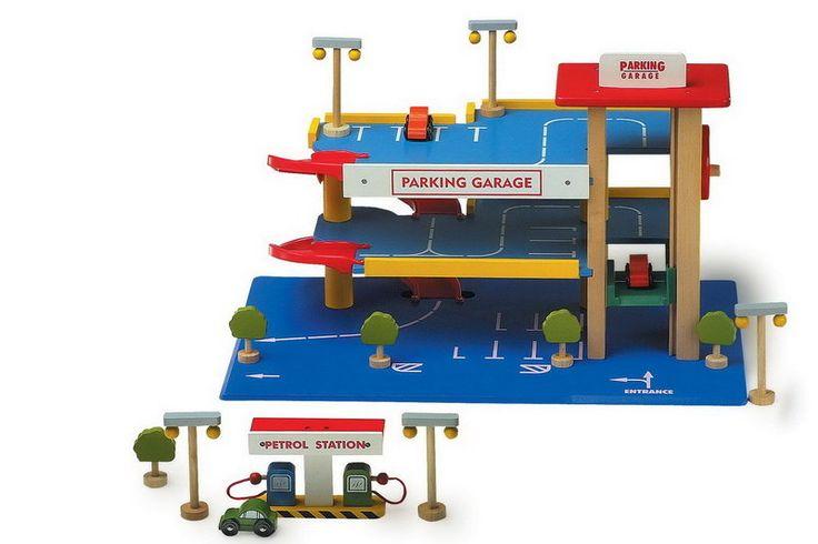 garage en bois parking 2 étages 85€