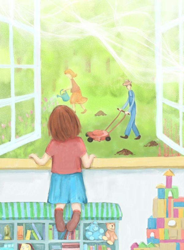 """O dziewczynce, której czegoś bardzo brakowało, 4 - w książce """"Gwiezdne Marzenia"""""""