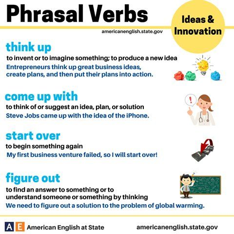 58 Best Images About Phrasal Verbs On Pinterest English